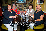 Enjoying the evening in the Brogue Inn on Saturday, l to r: Sandra Curtin (Knockmoyle), Kathleen Ring (Manor Village), Eileen Fitzell (Kilmoyley) and Bernie O'Connell (Manor Village).