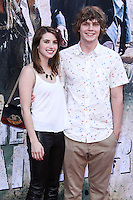 ANAHEIM, CA - JUNE 22: Emma Roberts and Evan Peters attend The World Premiere of Disney/Jerry Bruckheimer Films' 'The Lone Ranger' at Disney California Adventure Park on June 22, 2013 in Anaheim, California. (Photo by Celebrity Monitor)