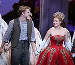 """Christy Altomare with Cody Simpson making his Broadway Debut Bows in """"Anastasia"""" at the Broadhurst Theatre on November 29, 2018 in New York City."""