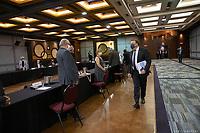 Conference de presse de Francois Legault durant la crise du COVID-19,<br /> le  15 juillet 2020<br /> <br /> PHOTO : Emilie Nadeau, Cabinet du Premier Ministre