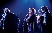 """BNPS.co.uk (01202 558833)<br /> Pic: BarryLevine/Guernseys/BNPS<br /> <br /> !!!ONE TIME USE ONLY!!! PICS ONLY TO BE USED IN RELATION TO THE AUCTION!!!<br /> <br /> Pictured: Crosby, Stills, Nash and Young at Woodstock.<br /> <br /> A photo collection offering a rare glimpse of the iconic Woodstock Festival has sold for over £12,000.<br /> <br /> The unique Levine series captured some of the world's most famous rock stars performing at the one-of-a-kind festival in Bethel, New York, in August 1969, including Jimi Hendrix, Janis Joplin, The Who, and Neil Young.<br /> <br /> Barry Levine, now 77, brushed shoulders with many of his subjects, recalling Hendrix's """"amazing sense of humour"""" and Young's disdain for photographers from his home in Florida."""
