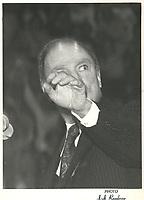Pierre Trudeau   et Claude Ryan durant<br />  le Referendum de 1980 <br /> (date inconnue)<br /> <br /> PHOTO : agence quebec presse