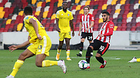 Said Benrahma of Brentford in action during Brentford vs Fulham, Caraboa Cup Football at the Brentford Community Stadium on 1st October 2020
