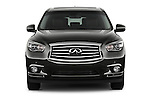 Straight Front View of 2013 Infiniti QX35 / JX35