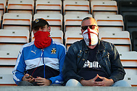 8th September 2020; Abbey Stadium, Cambridge, Cambridgeshire, England; EFL Trophy Football, Cambridge United versus Fulham Under 21; Fans in the stands watching the game
