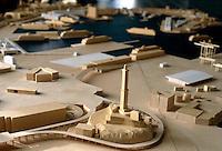 il plastico del porto di Genova