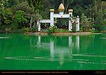 Mahatma Ghandi World Peace Memorial, Self-Realization Fellowship Lake Shrine, Pacific Palisades, Los Angeles, California