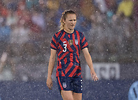 EAST HARTFORD, CT - JULY 1: Samantha Mewis #3 of the USWNT walks across the field during a game between Mexico and USWNT at Rentschler Field on July 1, 2021 in East Hartford, Connecticut.