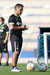 Getafe CF's assistant coach Jose Francisco Vallejo during training session. August 17,2021.(ALTERPHOTOS/Acero)
