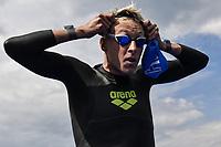 OLIVIER Marc-Antoine FRA<br /> Team Event 5 km<br /> Open Water<br /> Budapest  - Hungary  15/5/2021<br /> Lupa Lake<br /> XXXV LEN European Aquatic Championships<br /> Photo Andrea Staccioli / Deepbluemedia / Insidefoto
