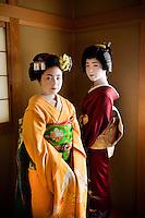 Kyoto, Japan 2005. Gesisha and Maiko, Kyoto, Japan, 2005