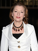 File photo of actress Lesley Manville who has been awarded a CBE for services to drama and charity.<br /> 'Fast Forward' - a National Theatre Fundraising Gala at the National Theatre, South Bank, London on March 4th 2015 <br /> <br /> Photo by Keith Mayhew