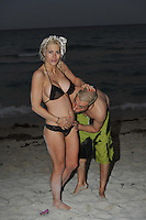 SMG_EXC_CA_Shayne Dahl Lamas-Richie_Nik Richie_Beach Bikini_Pregnant_041811_05.JPG_EXCLUSIVE COVERAGE<br /> <br /> EXCLUSIVE COVERAGE - DO NOT RUN WITH OUT DEAL IN PLACE <br /> <br /> SAN CLEMENTE, CA - APRIL 18: (EXCLUSIVE COVERAGE) Shayne and Nik Lamas-Richie celebrate their one-year anniversary on the beach. these are the first known shots of Shayne pregnant.  Shayne looked glowing and amazing as she posed for husband Nik with her new baby bump.  <br /> <br /> Shayne and Nik are currently filming a reality Show.  Shayne Dahl Lamas (born November 6, 1985) is an American actress. She is known for her role as the Young Carly Corinthos on General Hospital (2005) and as the winner of the twelfth season of The Bachelor.  Lamas is the daughter of Renegade Actor Lorenzo Lamas and Michele Cathy Smith.  On April 18, 2010, she married Nik Richie, founder of the popular pseudo-celebrity gossip site TheDirty.com in Las Vegas. The two were married less than 12 hours after meeting, and they confirmed the nuptials on twitter.  Following the wedding to Richie, she legally changed her name to Shayne Dahl Lamas-Richie.  On April 18, 2011 in San Clemente, California.  (Photo By Storms Media Group)<br /> <br />  <br /> People:   Shayne Dahl Lamas-Richie_Nik Richie<br /> <br /> Must call if interested<br /> Michael Storms<br /> Storms Media Group Inc.<br /> 305-632-3400 - Cell<br /> 305-513-5783 - Fax<br /> MikeStorm@aol.com