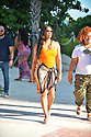 MIAMI BEACH, FL - JULY 16: Garcelle Beauvais and Tazz is seen at the beach on July 16, 2021 in Miami Beach, Florida. (Photo by Vallery Jean / jlnphotography.com )