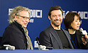 "Hugh Jackman and Dexter Fletcher attend press conference for ""Eddie the Eagle"" in Korea"