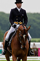 AUS-Sam Griffiths (PAULANK BROCKAGH) 2012 GBR-Equi-Trek Bramham International Horse Trial - Thursday Dressage: CCI*** INTERIM: 5TH