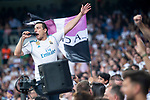 Real Madrid supporters during Santiago Bernabeu Trophy match at Santiago Bernabeu Stadium in Madrid, Spain. August 11, 2018. (ALTERPHOTOS/Borja B.Hojas)