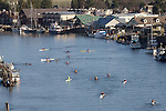 La Conner, open water race, Sound Rowers Open Water Rowing and Paddling Club, Washington State, Pacific Northwest,  USA,