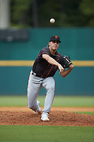 Anthony Ursitti (41) of Canterbury School of Ft. Myers in Fort Myers, FL playing for the San Francisco Giants scout team during the East Coast Pro Showcase at the Hoover Met Complex on August 2, 2020 in Hoover, AL. (Brian Westerholt/Four Seam Images)