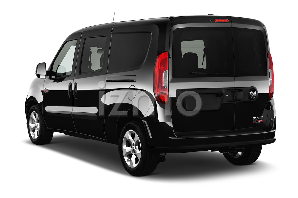 Car pictures of rear three quarter view of 2017 Ram Promaster City SLT 5 Door Mini Mpv Angular Rear