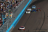 Monster Energy NASCAR Cup Series<br /> Can-Am 500<br /> Phoenix Raceway, Avondale, AZ USA<br /> Sunday 12 November 2017<br /> Matt Kenseth, Joe Gibbs Racing, Circle K Toyota Camry, checkered flag, win<br /> World Copyright: Michael L. Levitt<br /> LAT Images