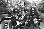 Black Sabbath  1970  Bill Ward, Tony Iommi, Ozzy Osbourne, Geezer Butler