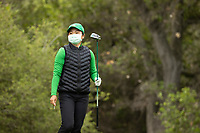STANFORD, CA - APRIL 25: Ching-Tzu Chen at Stanford Golf Course on April 25, 2021 in Stanford, California.