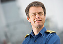 CAPTAIN ALEX BURTON, HMS BULWARK