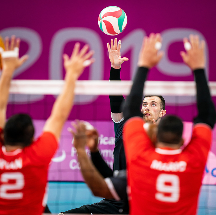 Doug Learoyd, Lima 2019 - Sitting Volleyball // Volleyball assis.<br />