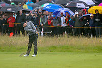 190719 | The 148th Open - Day 2<br /> <br /> Rory McIlroy of Northern Ireland on the 1st during the 148th Open Championship at Royal Portrush Golf Club, County Antrim, Northern Ireland. Photo by John Dickson - DICKSONDIGITAL