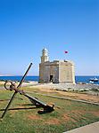 Spain, Balearic Islands, Menorca, Ciutadella: St. Nicholas Watch-tower | Spanien, Balearen, Menorca, Ciutadella: St. Nicholas Wachturm