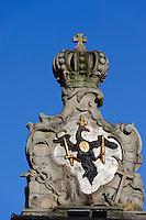 Stadttor in Jelenia Gora (Hirschberg), Woiwodschaft Niederschlesien (Województwo dolnośląskie), Polen, Europa<br /> City Gate in Jelenia Gora, Poland, Europe