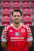 16th August 2020, Rheinland-Pfalz - Mainz, Germany: Official media day for FSC Mainz players and staff; Adam Szalai FSV Mainz 05