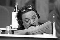 - Milano, Gianni De Michelis al 45° congresso del PSI  (Partito Socialista Italiano, Maggio 1989)<br /> <br /> - Milan, Gianni De Michelis at the 45th congress of the PSI (Italian Socialist Party, May 1989)