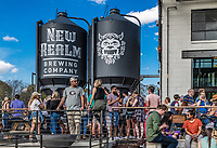 New Realm Brewery on the Beltline trail, Atlanta, Georgia, USA.