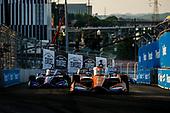 #9: Scott Dixon, Chip Ganassi Racing Honda, #51: Romain Grosjean, Dale Coyne Racing with RWR Honda