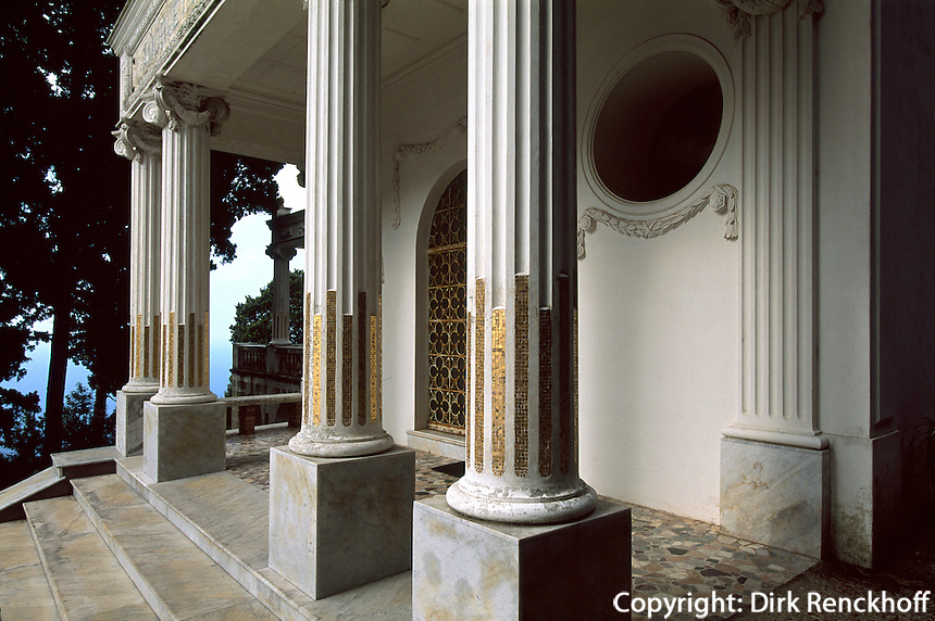 Italien, Capri, Villa Lysis = Villa Fersen erbaut 1905 vom französischen Stahlbaron Fersen......