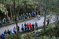 Victor Campenaerts (BEL/LottoNL-Jumbo) up Mount Fløyen<br /> <br /> Men Elite Individual Time Trial<br /> <br /> UCI 2017 Road World Championships - Bergen/Norway