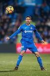 Jorge Molina Vidal of Getafe CF in action during the La Liga 2017-18 match between Getafe CF and Athletic Club at Coliseum Alfonso Perez on 19 January 2018 in Madrid, Spain. Photo by Diego Gonzalez / Power Sport Images