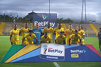 BOGOTÁ- COLOMBIA, 10-03-2021:Tigres y Bogotá durante partido de la fecha 1 por La Copa BetPlay DIMAYOR 2021 jugado en el estadio Metropolitano de Techo de Bogotá./ Tigres and Bogota a match of the 1nd for the BetPlay DIMAYOR 2021 Cup at Metropolitano de Techo  stadium in Bogota Photo: VizzorImage. / Daniel Garzon / Contribuidor
