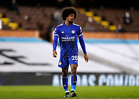 3rd February 2021; Craven Cottage, London, England; English Premier League Football, Fulham versus Leicester City; Hamza Choudhury of Leicester City