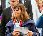 BALTIMORE, MD,  MAY 19: Barbara Banke, before the 143rd Preakness Stakes at Pimlico Racecource on May 18, 2018 in Baltimore, Maryland. (Photo by Sue Kawczynski/Eclipse Sportswire/Getty Images)