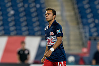 FOXBOROUGH, MA - JULY 23: Colby Quinones #41 of New England Revolution II game portrait during a game between Toronto FC II and New England Revolution II at Gillette Stadium on July 23, 2021 in Foxborough, Massachusetts.