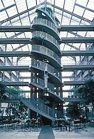 Gottfried Bohm: Zublin Ag HQ, Stuttgart 1983-4. Albstadtweg 3, Stuttgart-Mohringen.