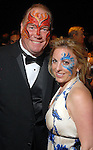 """Robert Dale Morgan and Kristy Ralston at the San Luis Salute to """"The Italian Riviera"""" at the Galveston Island Convention Center at the San Luis Friday  Feb. 20, 2009.(Dave Rossman/For the Chronicle)"""