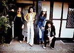 Queen 1975 Roger Taylor, Freddie Mercury, John Deacon and Brian May