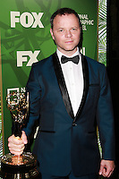 LOS ANGELES, CA, USA - AUGUST 25: Noah Hawley at the FOX, 20th Century FOX Television, FX Networks And National Geographic Channel's 2014 Emmy Award Nominee Celebration held at Vibiana on August 25, 2014 in Los Angeles, California, United States. (Photo by David Acosta/Celebrity Monitor)