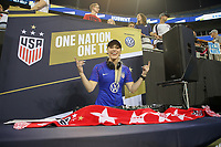 CHARLOTTE, NC - OCTOBER 03: DJ  during a game between the USA and Korea Republic at Bank of American Stadium, on October 03, 2019 in Charlotte, NC.