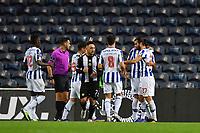 20th December 2020; Dragao Stadium, Porto, Portugal; Portuguese Championship 2020/2021, FC Porto versus Nacional; Sérgio Oliveira of FC Porto celebrates his penalty kick goal in the 21th minute 1-0