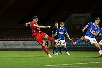 Conor Wilkinson scores the winner and celebrates during Leyton Orient vs Brighton & Hove Albion Under-21, EFL Trophy Football at The Breyer Group Stadium on 8th September 2020